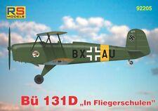 RS Models 1/72 Bucker Bu-131D en Flieger förening # 92205