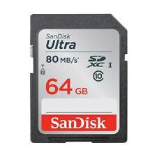 Tarjetas de memoria SD para cámaras de vídeo y fotográficas con 64 GB de almacenamiento