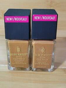 2 Black Radiance Color Perfect Oil Free Liquid Foundation - 1320070 & 068 NO BOX