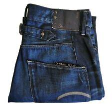 G Star Raw Dark Blue Denim Jeans Size 29