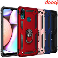 For Samsung Galaxy A20s/A10s Shockproof Magnetic Ring Holder Military Armor Case