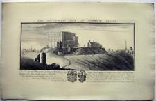 CASTLES BUCKS ANIQUITIES SAMUEL BUCK ENGRAVING NORWICH CASTLE 1738