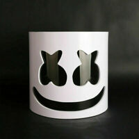 DJ Marshmello Latex Half Face Mask For Halloween Costume Cosplay Rave Party