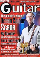 OCEAN COLOUR SCENE / RY COODER / ERIC JOHNSONGuitar MagazineMay2001