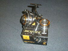 Browning Backfire II BF Freerun Fishing Reel + Spare Spool