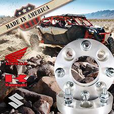 "2 USA 4x137 to 4x110 ATV Wheel Spacers 1.5"" Can-Am Commander Maverick Outlander"