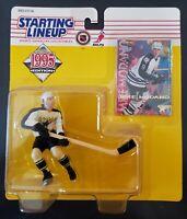 1995 Mike Modano Starting Lineup Dallas Stars in pkg w/ SLU Fleer Hockey Card