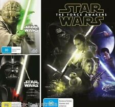 STAR WARS COMPLETE 1+2+3+4+5+6+7 = I+II+III+IV+V+VI+VII DVD NEW FORCE AWAKENS R4
