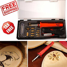 Wood Burning Tool Soldering Woodworking Art Woodburner Hobbies Crafts Pen Stamp