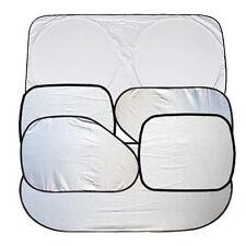 6x Car Window Sun Shade Foldable Windshield Shield Visor Block Cover Reflective
