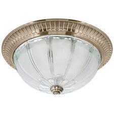 Deckenleuchte antik messing altmessing Glas Leuchte Deckenlampe mediterran :