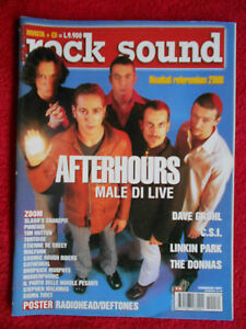 rivista ROCK SOUND 34/2001 Afterhours Dava Grohl C.S.I. Linkin Park Donnas No cd