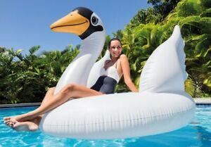New Intex Mega Swan Island Pool Lounge Inflatable River Sea Lake 56287 Huge 1.9m