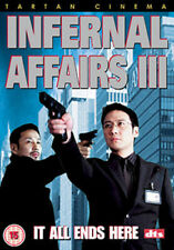 INFERNAL AFFAIRS III DVD [UK] NEW DVD