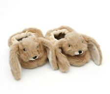 Brown Baby Bunny Slippers by Jomanda