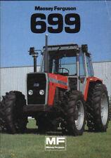 "Massey Ferguson ""699"" Tractor Brochure Leaflet"
