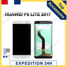 VITRE TACTILE + ECRAN LCD ORIGINAL PRET-A-MONTER POUR HUAWEI P8 LITE 2017 BLANC