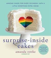 SURPRISE-INSIDE CAKES (9780062195319) - AMANDA RETTKE (HARDCOVER) NEW
