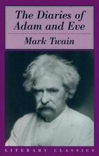 (New) The Diaries of Adam & Eve (Literary Classics) Mark Twain (2000 Prometheus)