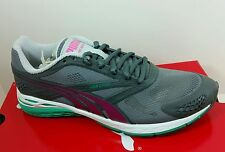PUMA BioWeb Speed Women's Running Shoes Size 8 Gray Violet Pink NIB Ship Fast!