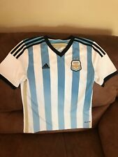 Adidas Argentina National Team 2013 Soccer Jersey Size  L Youth