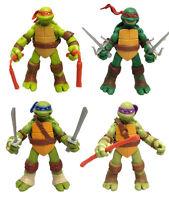 4Pcs/Set Teenage Mutant Ninja Turtles Classic Collection TMNT Figures Toys 5''