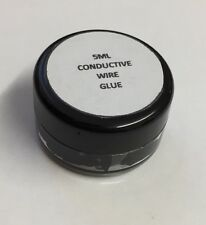 Conductive Wire Glue  Black Model Railway Wiring NO Soldering 5ML Free Shipping