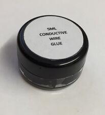 Conductive Wire Glue  Black Model Railway Wiring NO Soldering 5ML Free Shipping