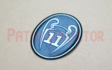 UEFA Champions League 11 Times Trophy - Dark Grey Soccer Patch / Badge