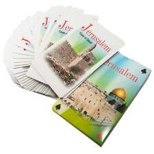 2 packs Decks Jerusalem Sites Collection Playing Cards Games Israel Gift Lot
