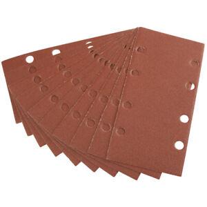 Draper Ten 90 X 187mm Aluminium Oxide Sanding Sheets pk of 10
