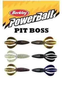 """Berkley PowerBait 3"""" Pit Boss 10pk Designed By Skeet Reese (Choose Color)"""