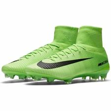 Nike Mens Mercurial Superfly V FG Green Soccer Cleats (831940 305) Size: 10 US