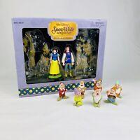 Walt Disney Snow White and the Seven Dwarfs Posable Figures Collectables