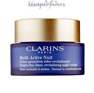 Clarins Multi-Active Nuit Revitalizing Night Cream Normal - Combination Skin