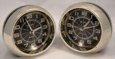 2 WESTCLOX BIG BEN FUTURA Deluxe Alarm Clocks  # 10078 - 1970's