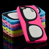 Coque Rubber Soft Case iPhone 6S 6Plus Plus 5S 4S SE Originale GLASS Etui Housse