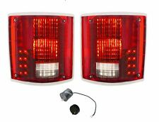United Pacific Sequential LED Tail Lamp Set W/ Trim 1973-87 Chevrolet GMC Truck