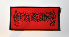 DISSECTION BLACK METAL EMBROIDERED PATCH ENTHRONED WATAIN NECROPHOBIC NAGLFAR