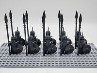 Game of Thrones Unsullied 10 Minifigures Lot Custom Minifigures Set - USA SELLER