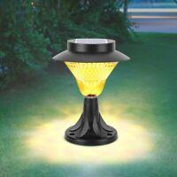 8LED Solar Luz de Pared Impermeable Sensor Movimiento Exterior Jardín Lámpara