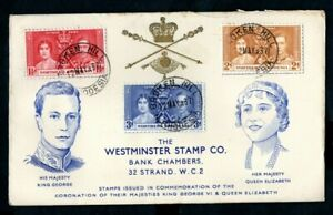 Northern Rhodesia - 1937 KGVI Coronation Illustrated First Day Cover