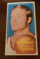 1970 Topps Dick Van Arsdale #45 Basketball Card