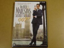 DVD / JAMES BOND 007 - ON HER MAJESTY'S SECRET SERVICE