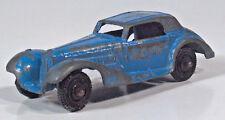 "Tootsietoy 1939 Mercedes Benz 770K 2.5"" Diecast Scale Blue"