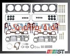 Fit 04-05 GM 3400 3.4L 207 V6 VIN E Engine Cylinder Head Gasket Set w/ Bolts Kit