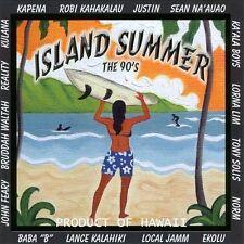 Various Artists Island Summer The 90s CD