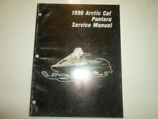 1990 Arctic Cat Pantera Service Repair Shop Manual Factory Oem Water Damaged 90
