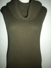 MICHAEL MICHAEL KORS MS SZ SMALL LODEN GREEN REMOVABLE COWL NECK SWEATER