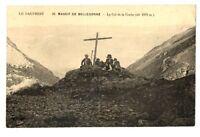 CPA 38 Isère Massif de Belledonne  Col de la Coche animé